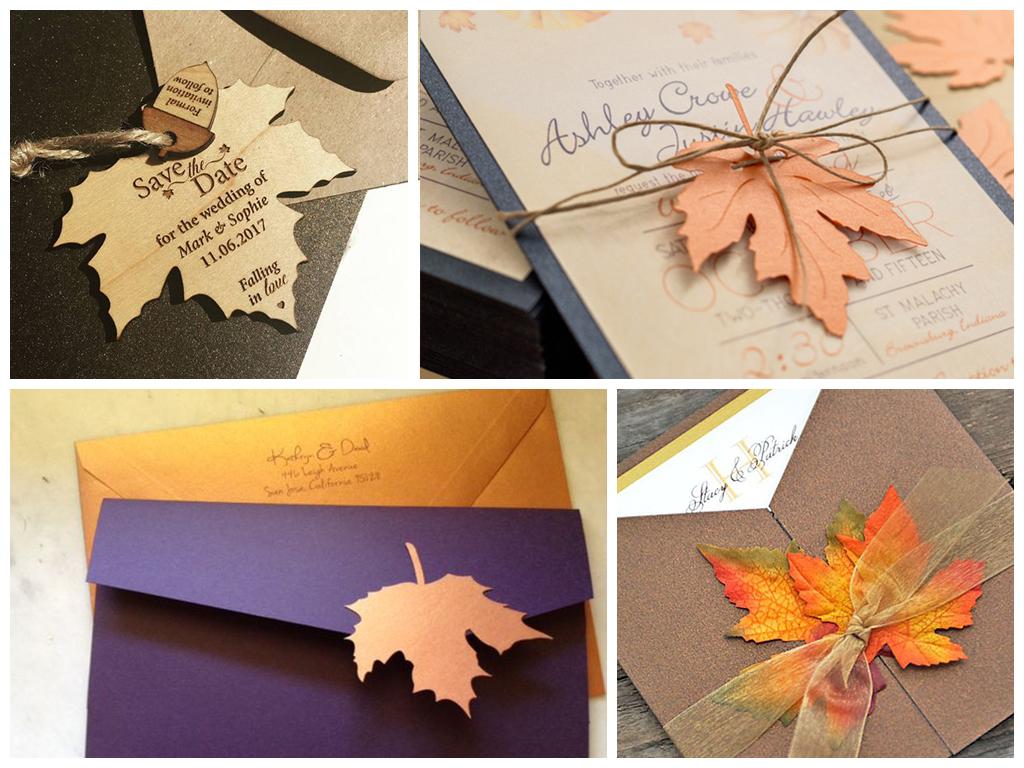 Прикольные для, открытки свадьба осенью